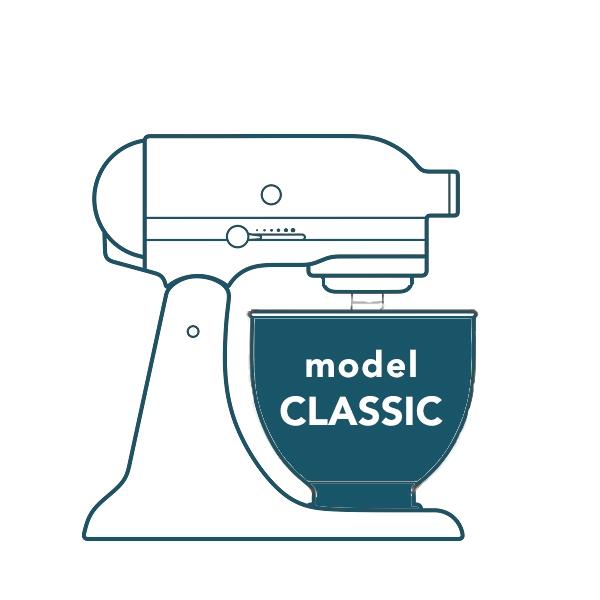 4,3L Mikser Classic biały